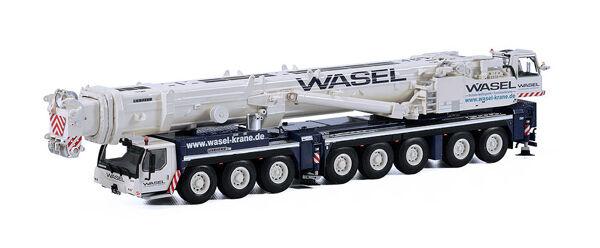 protección post-venta WSI 01-2050 01-2050 01-2050 Wasel Liebherr LTM 1500-8.1 grúa móvil hidráulico DIE-CAST 1 50 MIB  marca en liquidación de venta