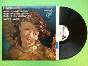 Haydn-Quartets-Janacek-Quartet-Decca-Ace-von-Diamonds-SDD-285-Ex-Zustand-LP