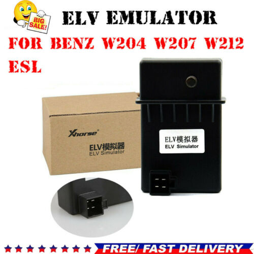 XHORSE ELV Emulator Tool Fit for W204 W207 W212 Work with VVDI MB Tool UK Seller