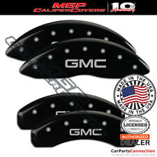 Mgp Caliper Brake Cover Black 34015sgmcbk Front Rear For Gmc Yukon 2018 2019