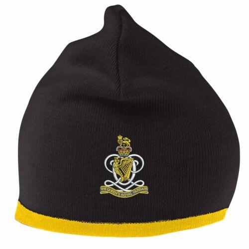 Queens royal hussars Beanie chapeau avec logo brodé
