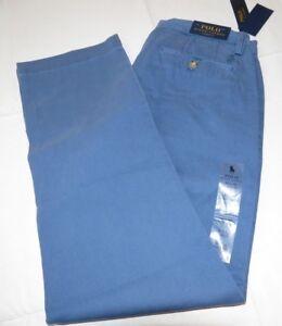 Mens Polo Ralph Lauren 32 X 32 Classic Fit Chino Pant Blue Pants 291002 712169645588 Ebay