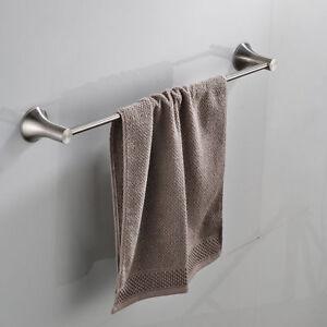Nickel Brushed Stainless Steel Bathroom Accessories Towel Rail Rack - Brushed stainless steel bathroom accessories