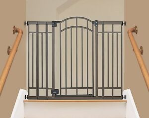 Safety Gate Extra Tall Baby Or Pet Auto Close Safety Metal Door For