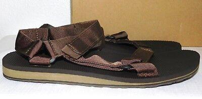 Teva Original Universal Premier Black Mens Ankle Hook And Loop Strap Size 9M