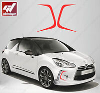 Stickers Autocollant Ouies Aeration Adaptables Citroen Ds3 Tuning Racing Cit85