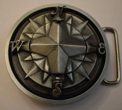 Buckle Nordstern Rock n Roll m.Kompass integriert Rockabilly oldschool Vintage