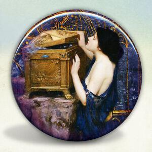Lady Shalott Waterhouse Pocket Mirror tartx