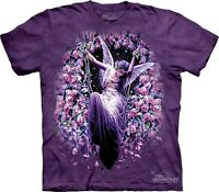 Gatekeeper T-shirt By The Mountain. Fairy Angel Roses Faerie Sizes S-5xl