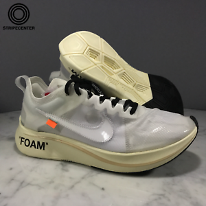 Image is loading NIKE-ZOOM-FLY-039-OFF-WHITE-039-WHITE-