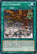 3x Xyz Override - LVAL-EN068 - Common - 1st Edition YuGiOh NM LVAL - Legacy of t