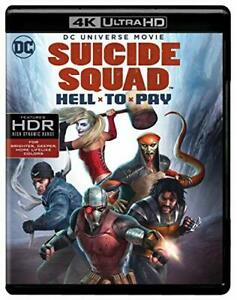 Suicide Squad: Hell to Pay Blu-ray artwork and special