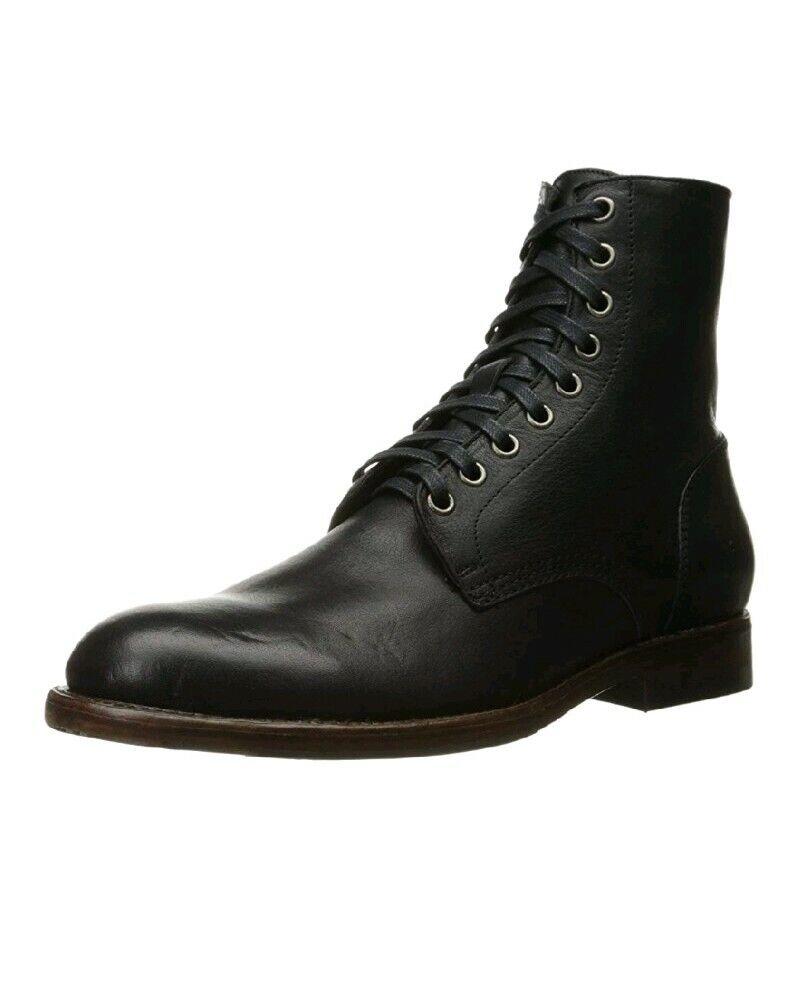 Frye Combat Boots Mens 9 M D Black Ankle  358 C75 R1