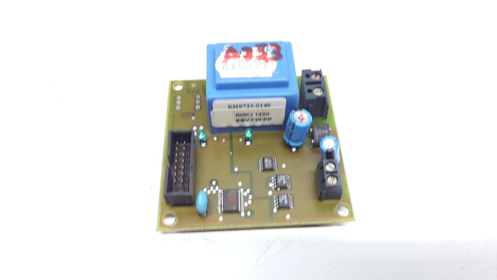 Weishaupt RMCI 1400 Schnittstelle EBV-3-w-PP  KH9725-0149   a753