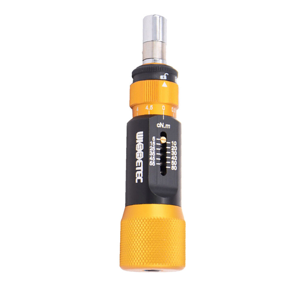 Adjustable Torque Screwdriver 1 4  Hex Connector Screw Driver for 5cNM10Nm