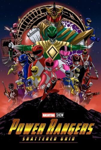 Kunst NEW Infinity War Parody Power Rangers Shattered Grid
