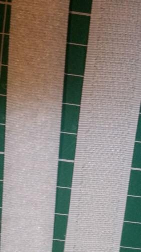 Crochet et Boucle de marque Sew Sur Fermeture ruban pour tissu blanc en 25 mm de large