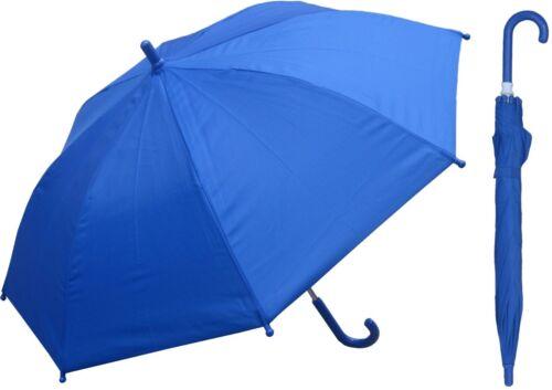 "32/"" Arc Children Kid Solid Color Umbrella RainStoppers Rain//Sun UV Costume"