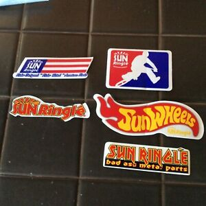 NOS BMX MTB Sun Ringle decal sticker