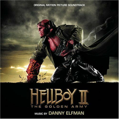 So-Hellboy Ii-The Golden Army-Music By Danny Elfman  (US IMPORT)  CD NEW