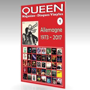 QUEEN-Magazine-Disques-Vinyles-N-1-Allemagne-1973-2017-Guide-Couleur