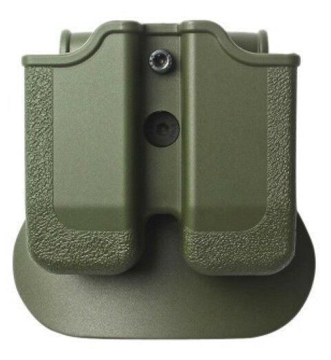 Z2030-MP03 IMI Defense Green Right Hand Double Magazine Pouch Taurus PT800 9&40