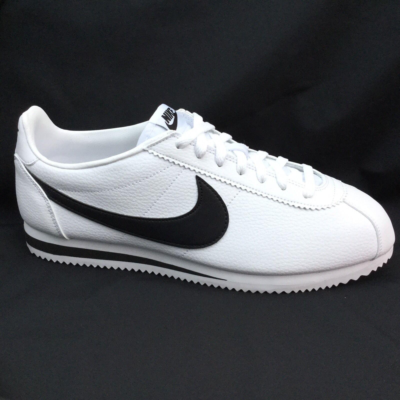 Nike Cortez OG Leather blanc EU & noir Vintage 749571-10011 EU blanc 46 US 12 29af12