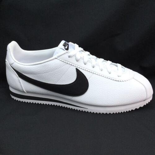 negro Nike 12 749571 Vintage cuero y Og Cortez 11 100 Us Uk 46 blanco Eu r1x1qHwX