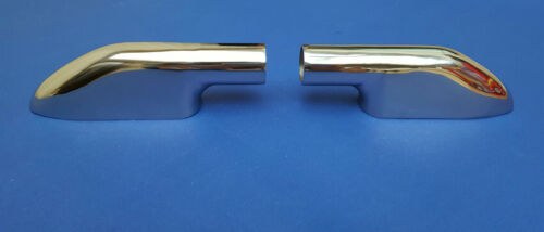 Pair of Marine Stainless Steel 316 End Mount Terminal for Tube//Rail 22mm 7//8/""