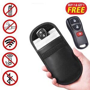 Car-Key-Signal-Blocker-Case-Faraday-Cage-Fob-Pouch-Keyless-RFID-Blocking-Bag