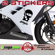 NINJA sticker decal vinyl japan kawasaki zx6 zx7 zx9 zx12 R bike fairing tank zx