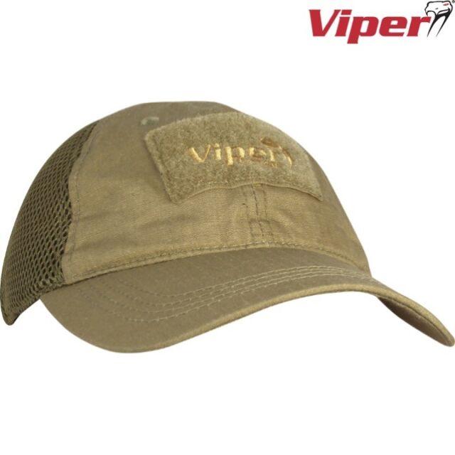 VIPER FLEX-FIX MESH BASEBALL CAP ADJUSTER ID PANEL AIRSOFT MILITARY CADET