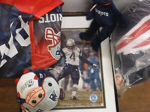 New-England-Patriots-Lot-Of-6-Tom-Brady-Vinateri-Photos-Beanies-Bag-062717jh