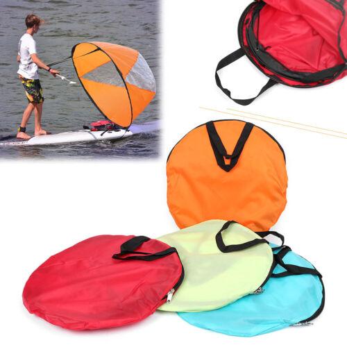 "42/"" Kayak Boat Wind Sail Sup Paddle Board Sailing Windpaddle Sailboat Durable"