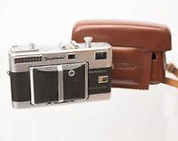 Voigtlander Vitessa 35mm Film Camera W/ Skopar 1:2.8 50mm Lens And Case