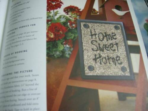Rooster//Hou Teach Yourself Rug Hooking Craft Book By Donna Lovelady-14 Projects