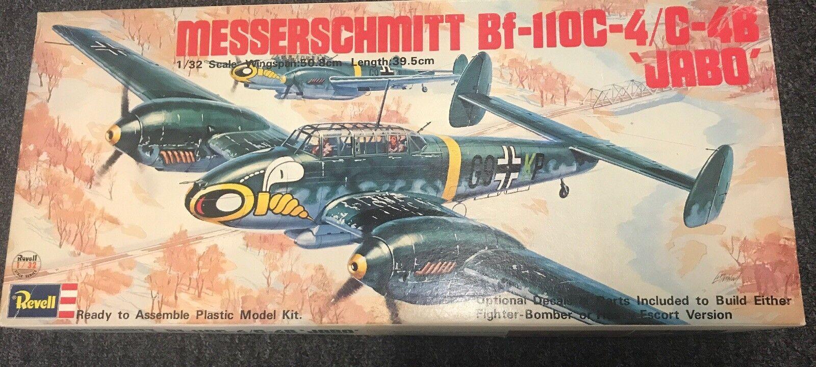 1 32 Revell H-249 Messerschmidtt BF110C-4 C-4B Jabo.