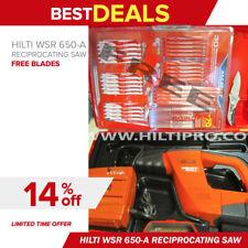 Hilti Wsr 650 A Reciprocating Saw Excellent Conditionfree Blade Set Fast Ship
