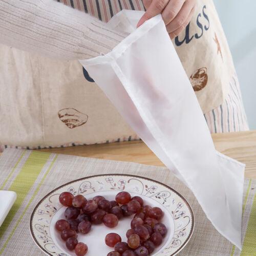 Fine Mesh Nylon Nut Milk Bag Reusable Almond Food Strainer//Coffee//Yogurt Filter