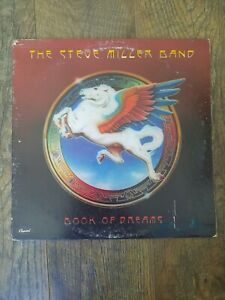 """The Steve Miller Band Book Of Dreams 1977 Vintage Record 33 RPM 12"""" LP R 114443"""