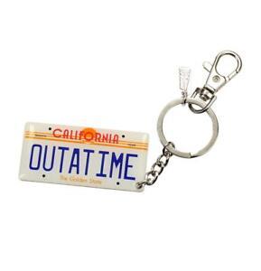 Porte-cles-officiel-Retour-vers-le-futur-porte-cles-BTTF-Outatime-plate-keychain