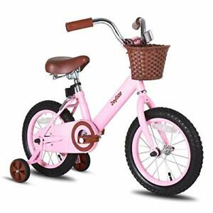 Joystar 16 Inch Kids Bike With Training Wheels For 4 5 6 7 Years Old Girls Ch Ebay