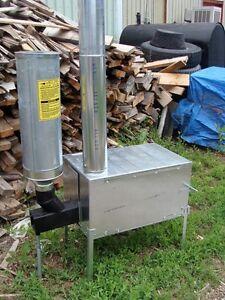 Trail Boss Wood & Pellet Burner Camp Stove Riley Stoves   eBay