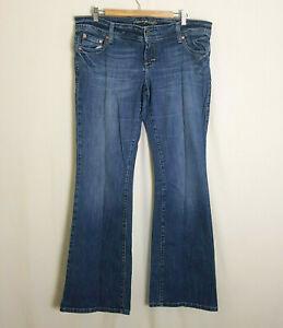 American-Eagle-Dark-Blue-Artist-Jeans-US16L-Uk20-W39-034-L32-034-Denim-Tall-Long-Plus