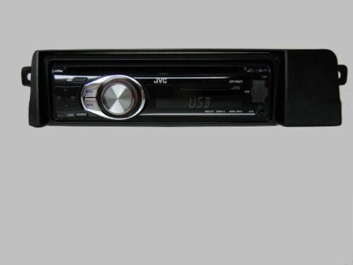 JVC BMW E 46 E46 3er CD MP3 USB Radio Set  Coupe Limo  Blende Adapter