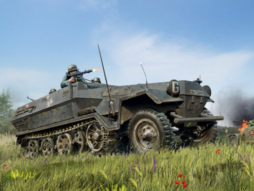 ICM 35101-1:35 Sd.Kfz.251//1 Ausf.A WWII German Armoured Personnel Carrier Ne