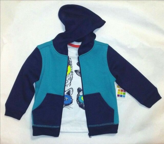 ecfed91aa Healthtex Toddler Boys 2 PC Fleece Hoodie t-shirt Set Hoody Hooded ...