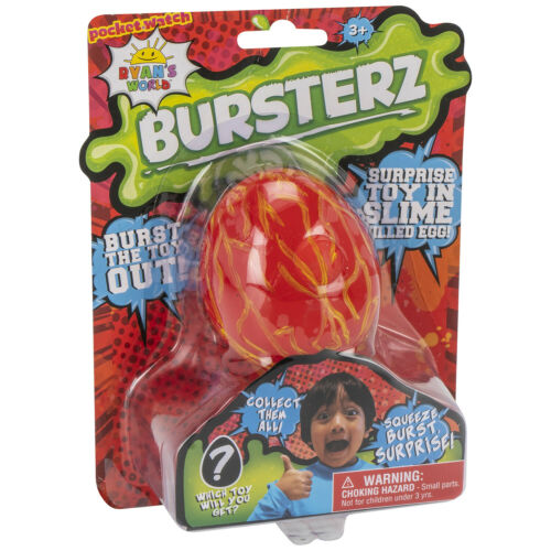 Playset RYAN/'S WORLD BURSTERZ Surprise Toy in Slime Ooze Squishy Egg !!