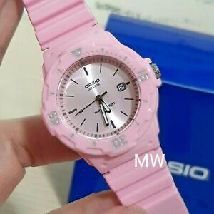 ad62eb8e1d8b Latest Casio Womens Watch Analog Pink Rubber Band Sports Date 100M ...