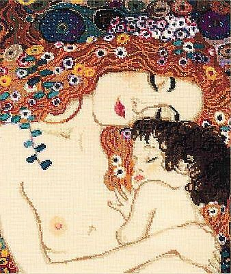 RIOLIS  916   Motherly Love after G.Klimt's painting  Counted Cross Stitch Kit